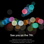 Apple Event op 6 september 2016