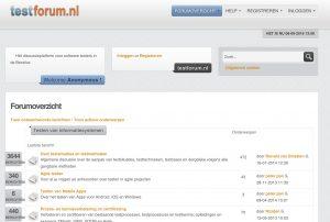 testforum-frontpage
